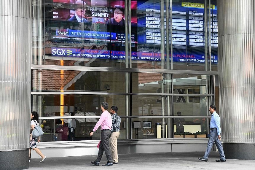Total securities market turnover on the Singapore Exchange came in at $19.4 billion for the 20 trading days last month, down 17 per cent from August and 11 per cent from September last year.