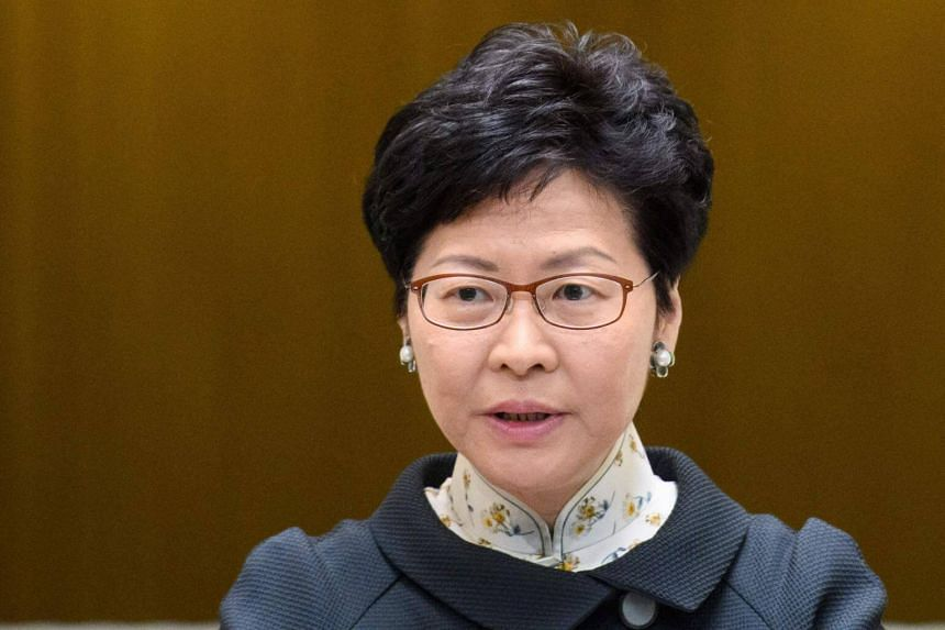 Hong Kong's leader Carrie Lam refused to directly acknowledge specifics of speculation over why a Financial Times journalist was denied a visa.
