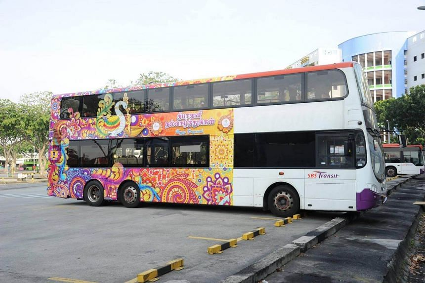Five buses, on services 23, 64, 65, 147 and 166, will also be Deepavali-themed.