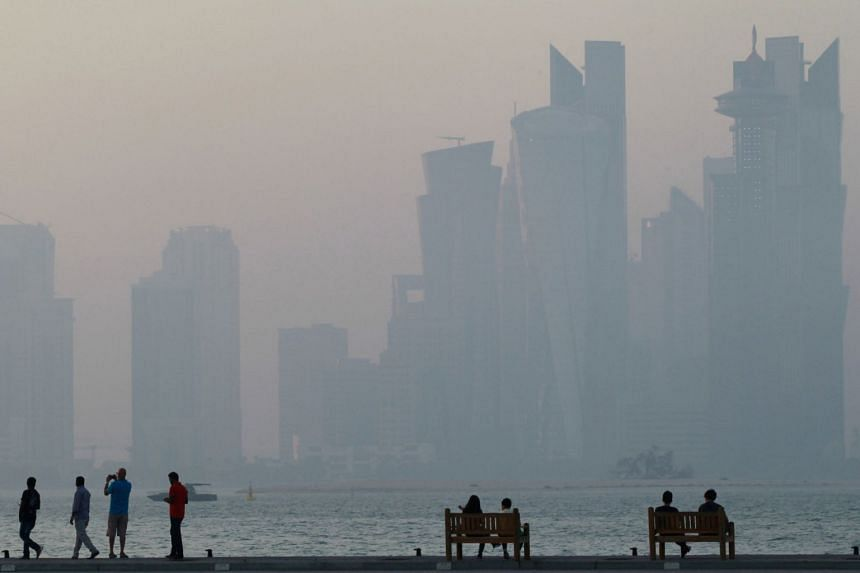 File photo of Doha, Qatar. Companies that set up a hub in the city will be provided free offices and tax incentives, among other things, in return for a commitment of at least a decade.