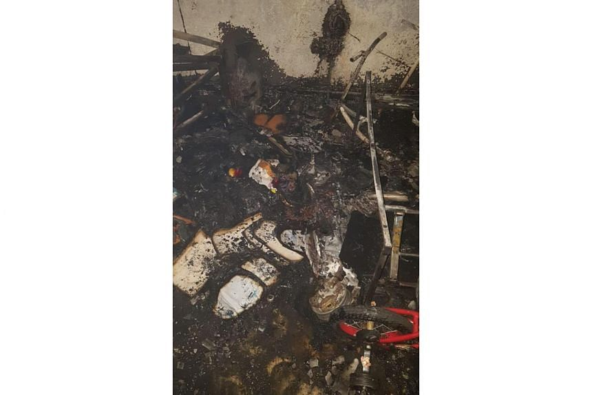 Preliminary investigations found that the fire had originated from the personal mobility device's battery pack.