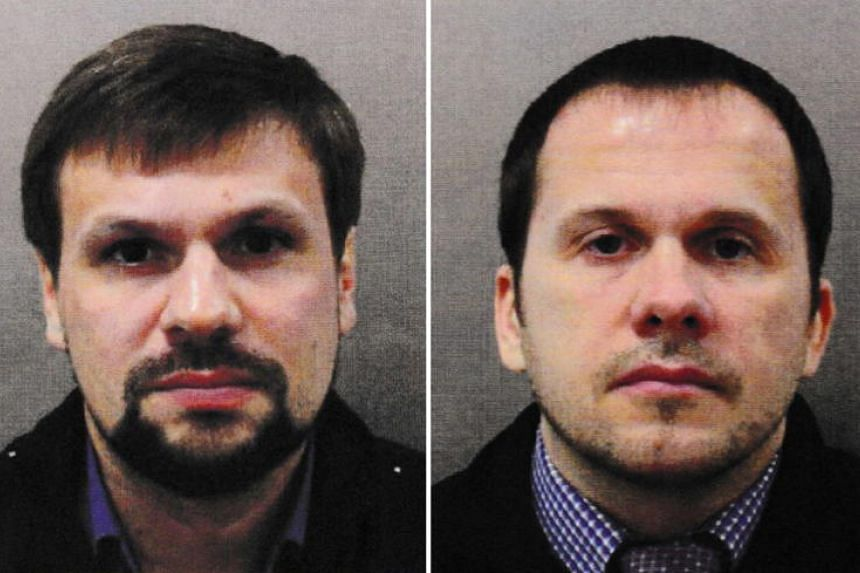 Investigative webiste Bellingcat on Oct 8, 2018 claims it has identified Alexander Petrov (right) as Alexander Yevgenyevich Mishkin, allegedly a trained military doctor employed with the Russian military intelligence agency GRU. On  Sept 28, 2018, Be