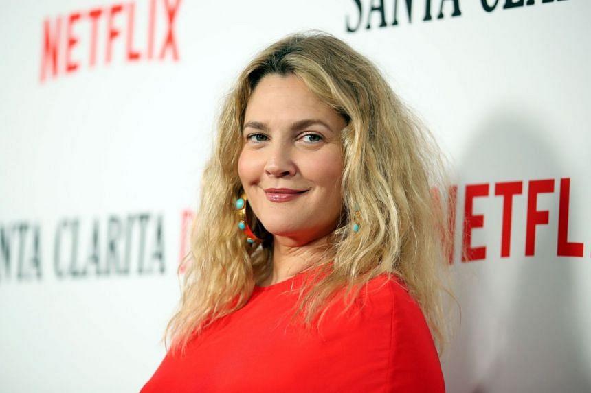 Drew Barrymore attending Netflix's Santa Clarita Diet season 2 premiere in March 2018.