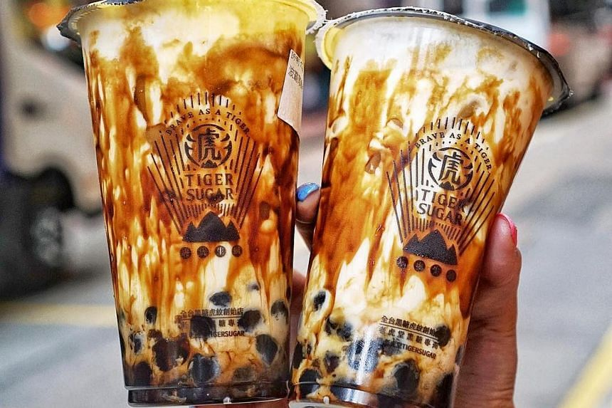 Taiwan's Tiger Sugar bubble milk tea to open at Singapore's