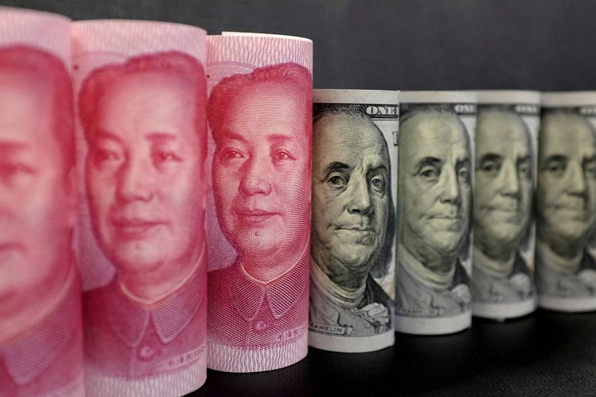 China's central bank on Oct 9, 2018, fixed its yuan at 6.9019 per dollar, so breaching the 6.9000 barrier and leading speculators to push the dollar up to 6.9320 in the spot market.