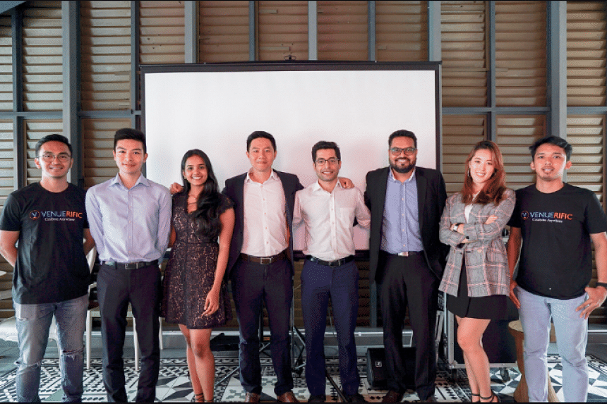 The Venuerific Singapore team. The event venue marketplace start-up has acquired Singapore-based online marketplace specialising in wedding venues, Wedever, for an undisclosed amount.