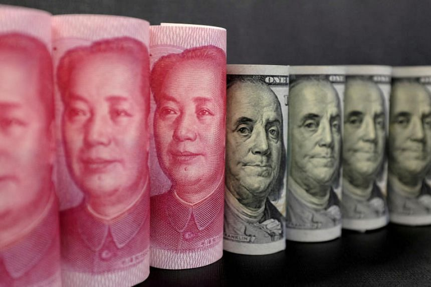 On Oct 9, 2018, China's central bank fixed the yuan's official mid-point for trading at 6.9019 per US dollar, edging close to the psychologically important 7.0 barrier.