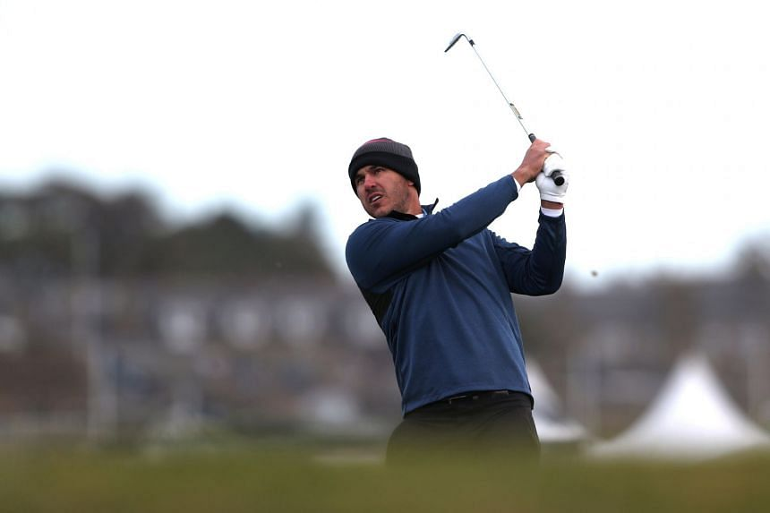 Koepka during the second round of the Alfred Dunhill Links Championship in Britain.