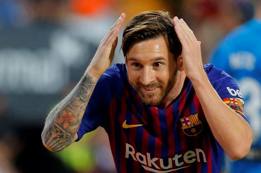 Messi's (above) stellar career will be the subject of a new Cirque du Soleil show.