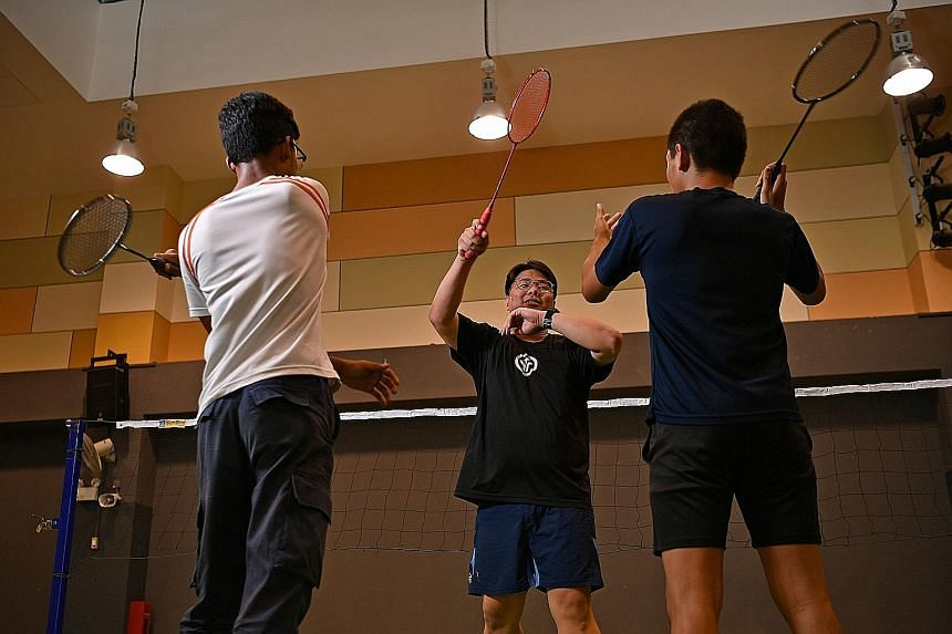 Mr Kevin Chia has dedicated himself to the social service sector and now oversees juvenile delinquents at the Singapore Boys' Hostel as a youth worker with Trybe, an organisation that helps troubled youth.