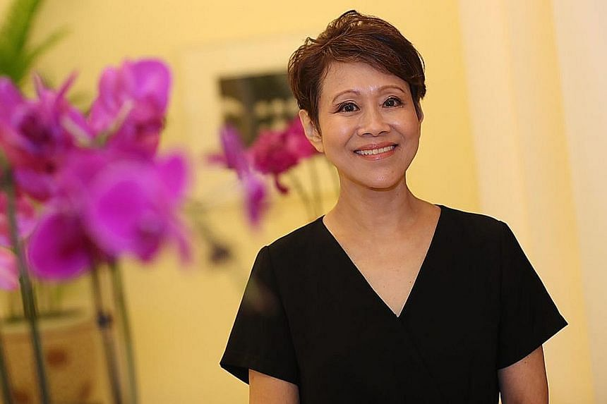 Ms Susan Ng received the Enabler Award yesterday at the Istana during the Community Chest Awards 2018. She started volunteering in 1985.