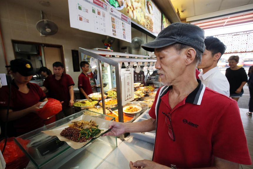 All 46 National Transport Workers' Union canteens will have the healthier meals, which include brown rice, assessed by the Health Promotion Board.