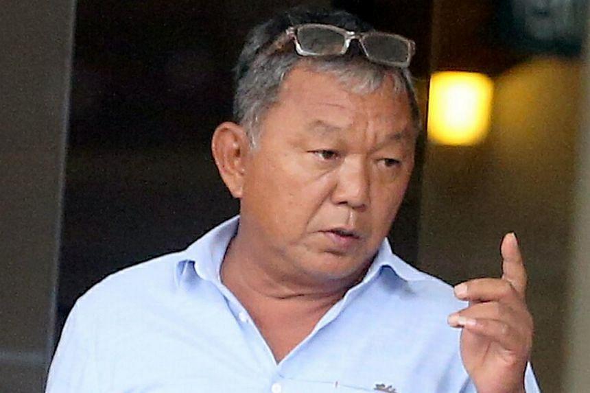 Chew Kim Seng, 56, was among 10 massage establishment operators hauled to court over various offences, on Oct 10, 2018.