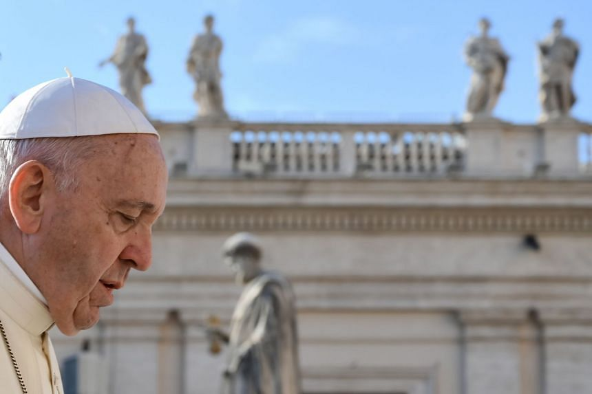 Pope Francis made his off-the-cuff comments on abortion, some of his toughest to date, in an address to tens of thousands of people gathered in St Peter's Square for his weekly general audience.