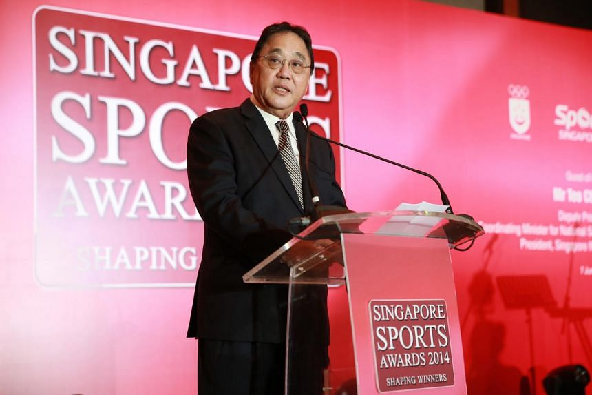 A file photo of Singapore Taekwondo Federation president Milan Kwee. Kwee announced his impending departure during the national sports association's annual general meeting, on Sept 29, 2018.