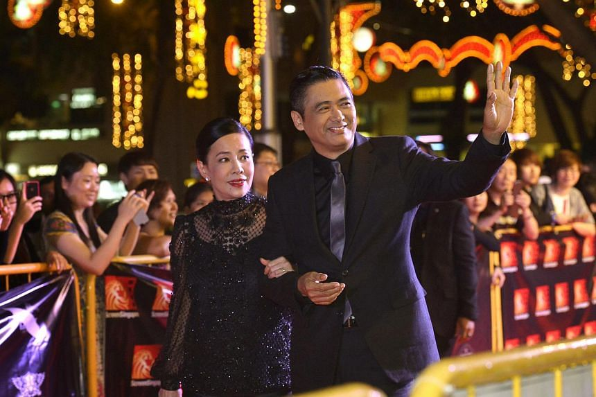 Hong Kong superstar Chow Yun Fat revealed that he is not romantic, but pampers his wife, Jasmine Tan, at home.