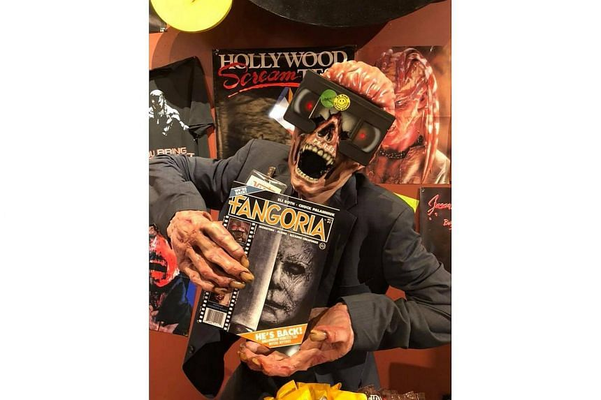 Fangoria has crawled out of its own grave in the form of a new quarterly journal with photos so high-gloss that the blood looks wet.