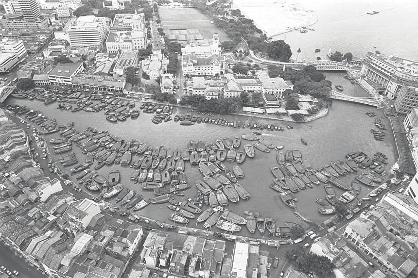 The history of Singapore, prior to Sir Stamford Raffles' arrival in 1819, centred more on waterways and the contests for them.