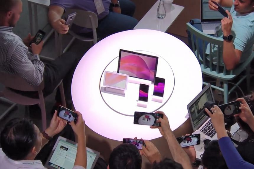 All the devices revealed at Google's hardware event today - the Google Pixel 3 XL and Pixel 3 smartphones, the Google Pixel Slate and the Google Home Hub.