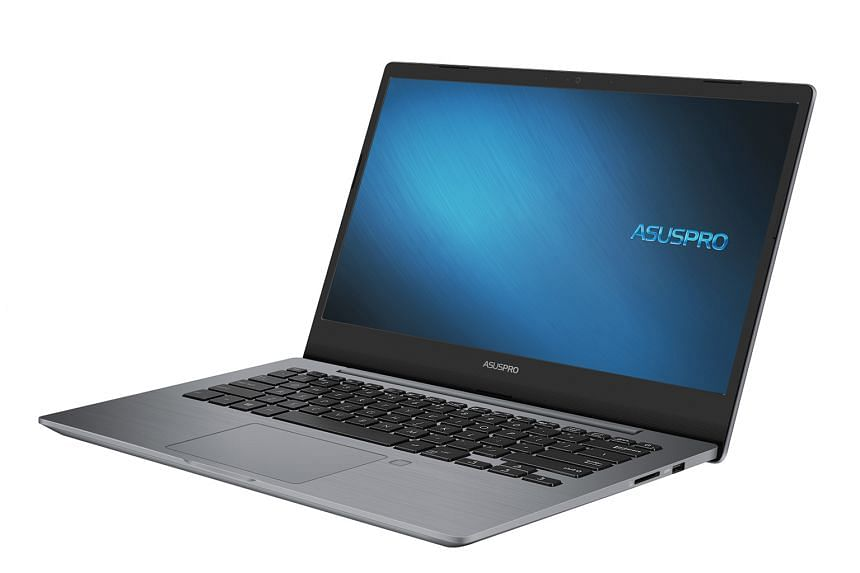 The AsusPro P5440 has a plain and safe design.