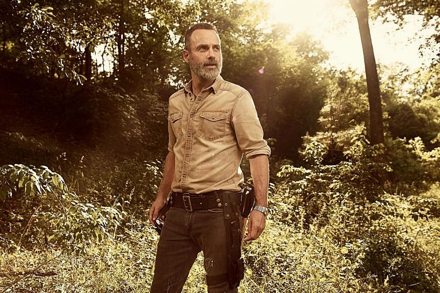 Actor Andrew Lincoln has been starring in The Walking Dead since 2010.