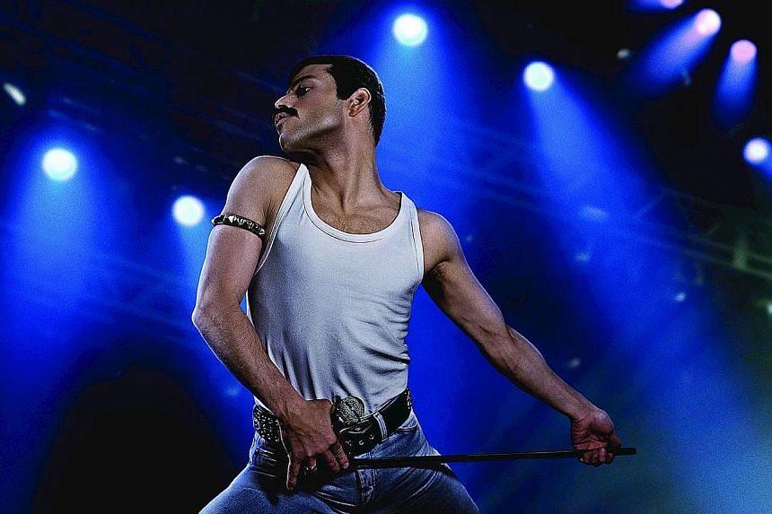 Rami Malek as Freddie Mercury from Queen