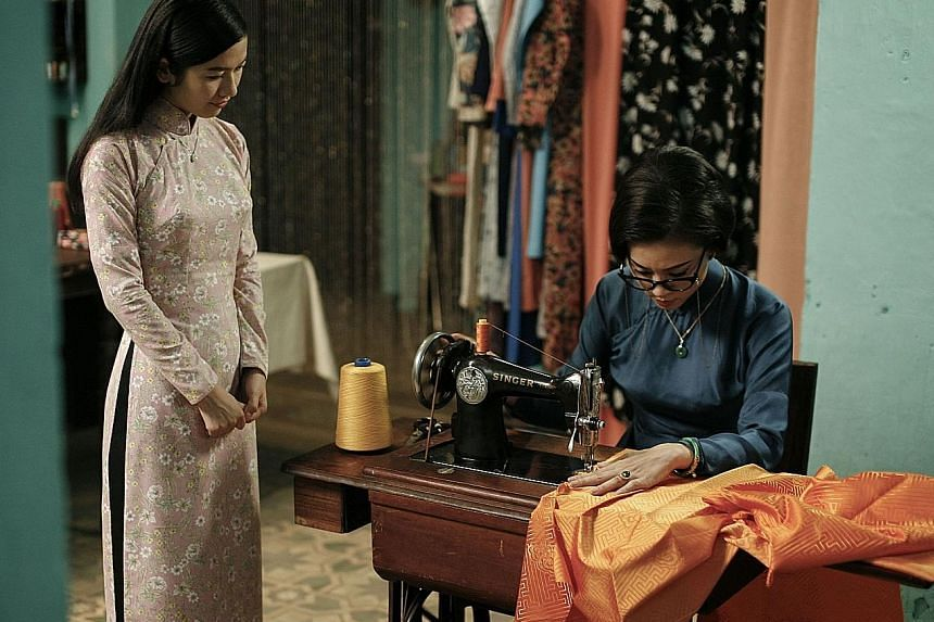 Their Remaining Journey (left) is the debut feature by home-grown visual artist John Clang (above); while The Tailor (below) is Vietnam's entry to next year's Academy Awards' Best Foreign Language Film category.