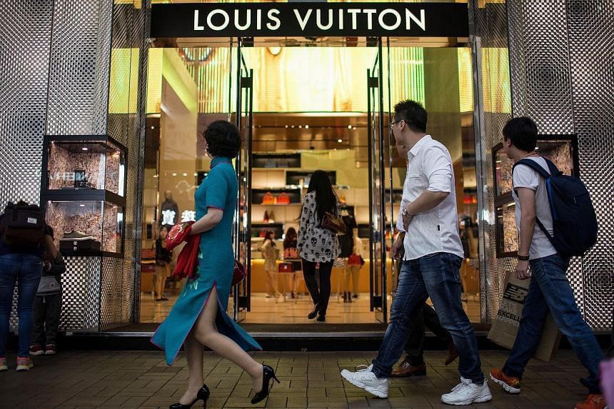 A Louis Vuitton store in Hong Kong. French giant LVMH, home of Louis Vuitton leather goods, said on Tuesday that its luxury retailer DFS performed especially well in Hong Kong and Macau, while its wines and spirits business grew rapidly in China.