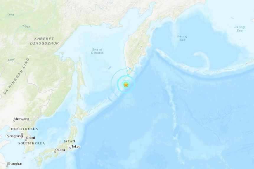 There were no immediate reports of damage or casualties following the magnitude 6.3 earthquake south of the Kuril islands.
