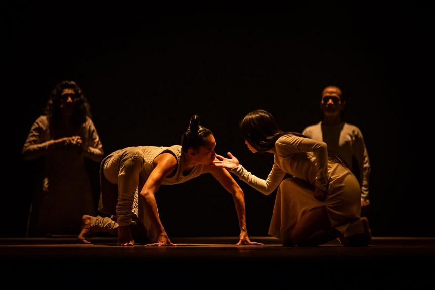 The piece of dance theatre tells the tale of Amba, a princess who is abducted and humiliated by the warrior Bheeshma.