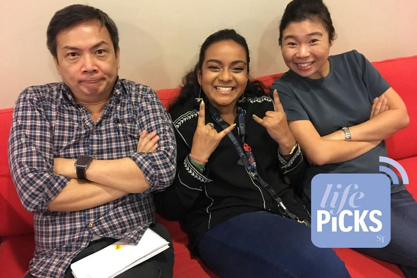 From left: ST journalists John Lui and Anjali Raguraman join Life Picks podcast host Melissa Sim to give you the best lifestyle tips this week.