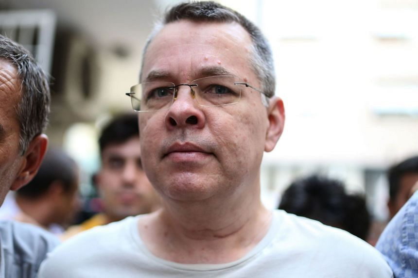 Pastor Andrew Brunson is charged with links to Kurdish militants and supporters of Fethullah Gulen.