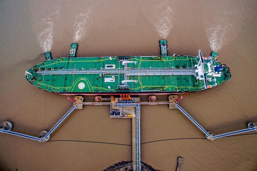 China's slumping purchases of American crude - and its extra buying from elsewhere - have coincided with a trade war between the US and the Asian country.