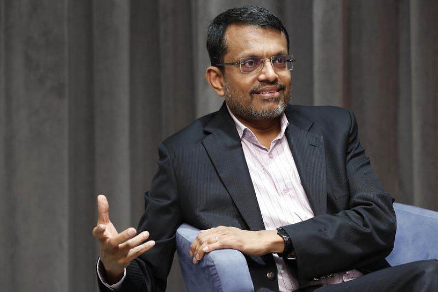 Mr Ravi Menon, managing director of the Monetary Authority of Singapore, noted that there has been instability in global markets, as the United States has been raising interest rates.