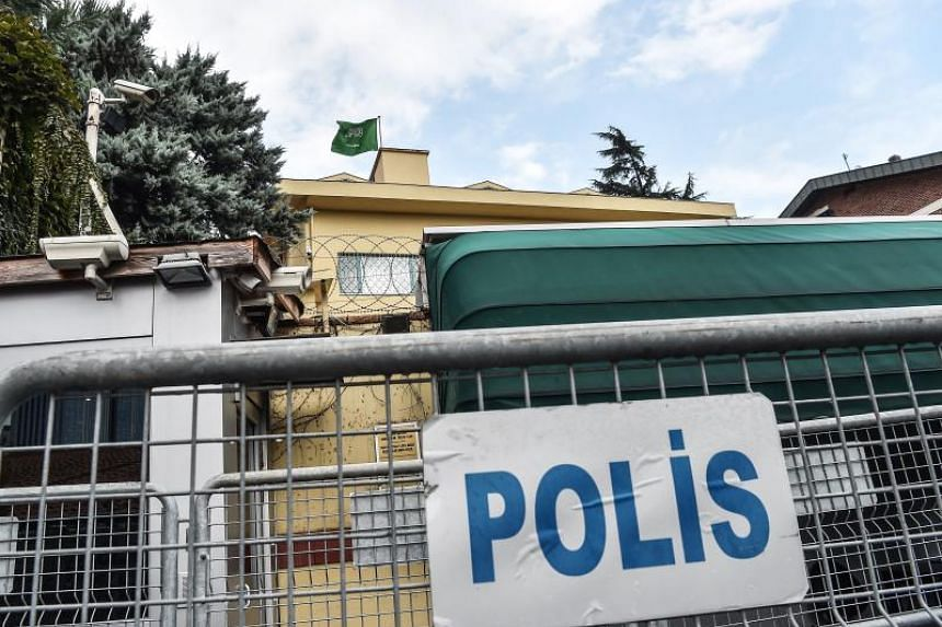 The backyard of the Saudi Arabian consulate in Istanbul. Jamal Khashoggi, a Saudi Washington Post contributor, vanished after entering the consulate to obtain official documents on Oct 2, 2018.