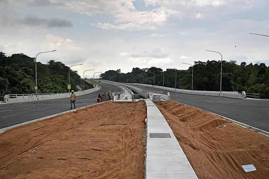Some motorists interviewed are looking forward to the opening of the first phase of Lornie Highway.