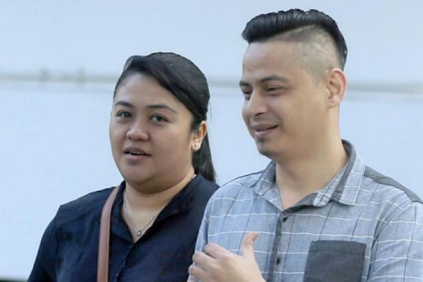 Noryana Mohamed Salleh, 37, and her boyfriend Rajzaed Sedik, 40, were each sentenced to 36 weeks' jail for theft and cheating.