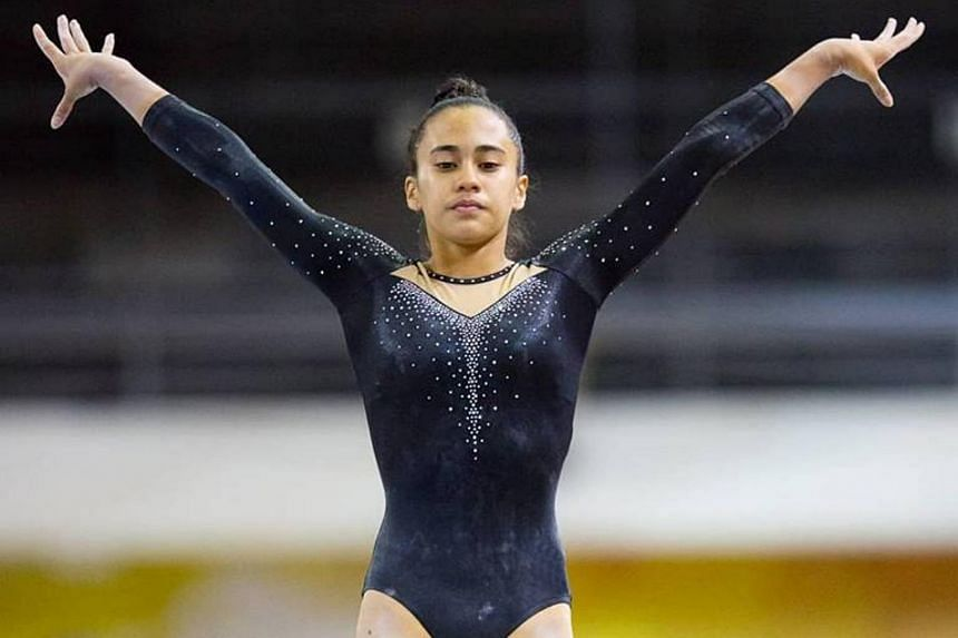 Tamara Ong was part of a 13-athlete squad, named Team Simone Biles Orange, that clinched the gold in the multi-discipline team event.