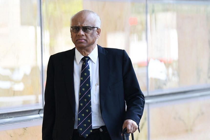 In the 56 instances in which auditors said there was no proper endorsement of invoices, defence lawyer Chelva Rajah (above) pointed to alternate documents called the Voucher Journal Report, which showed signatures of the appropriate head of departmen