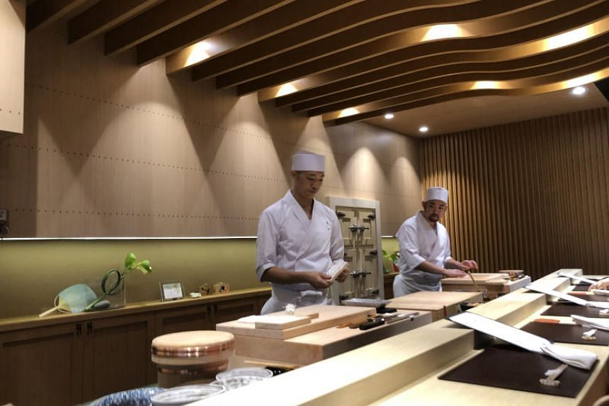 Hashida Sushi has reopened in Mohamed Sultan Road in bigger and better premises.