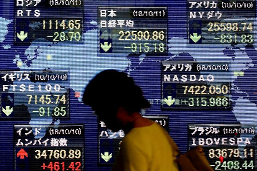 Asian markets crumbled as the sell-off that struck United States stocks reverberated far and wide, with indexes in China and Taiwan plunging around 6 per cent.