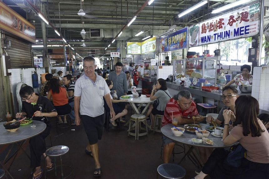 The ban will cover all air-conditioned and non-air-conditioned restaurants, coffee shops, as well as open-air hawker centres and street stalls.