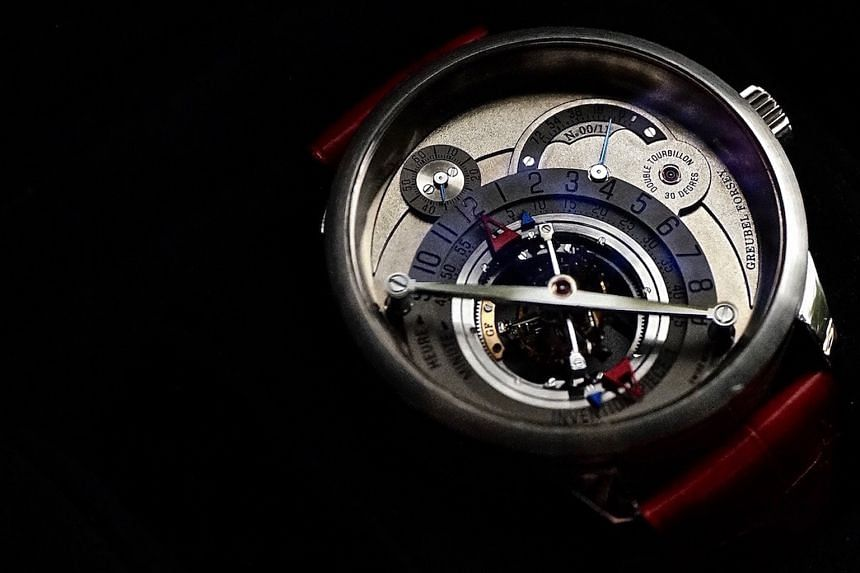 There are only 11 Greubel Forsey Invention Piece 1 watches in the world.