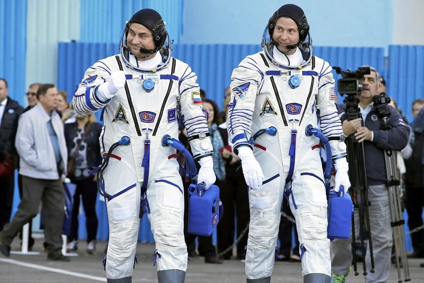Russian cosmonaut Alexei Ovchinin (above, left) and US astronaut Nick Hague were unharmed and landed safely after a booster rocket on the Soyuz-FG launch vehicle, carrying them to the International Space Station, failed in mid-air. The space rocket (