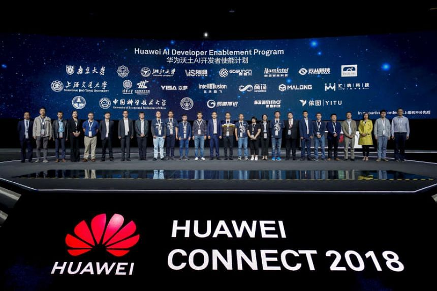 Chinese tech giant Huawei's new push will target developers, industry partners, universities and research institutions, it said at the Huawei Connect Conference in Shanghai on Oct 12, 2018.