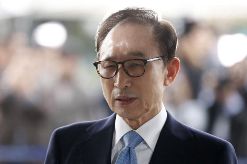 Former South Korean president Lee Myung-bak was found guilty of bribery and embezzlement charges, becoming the latest of the country's former leaders to be jailed after leaving office.
