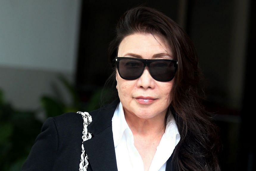 Shi Ka Yee has been sentenced to a total of six weeks' jail for a string of offences, ranging from obstructing Orchard Road in a road rage row, to trapping a tree pruner high on a crane in an argument with her neighbour.