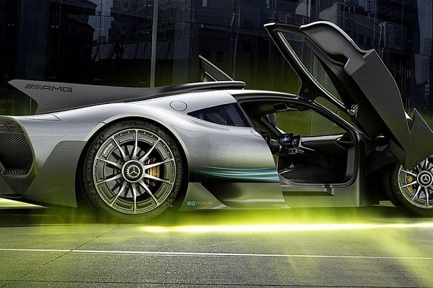 Mercedes-AMG One hybrid hypercar