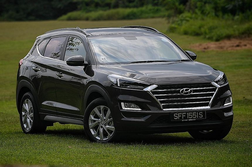 The latest Hyundai Tucson is immensely energetic and exudes boundless verve at the wheel.