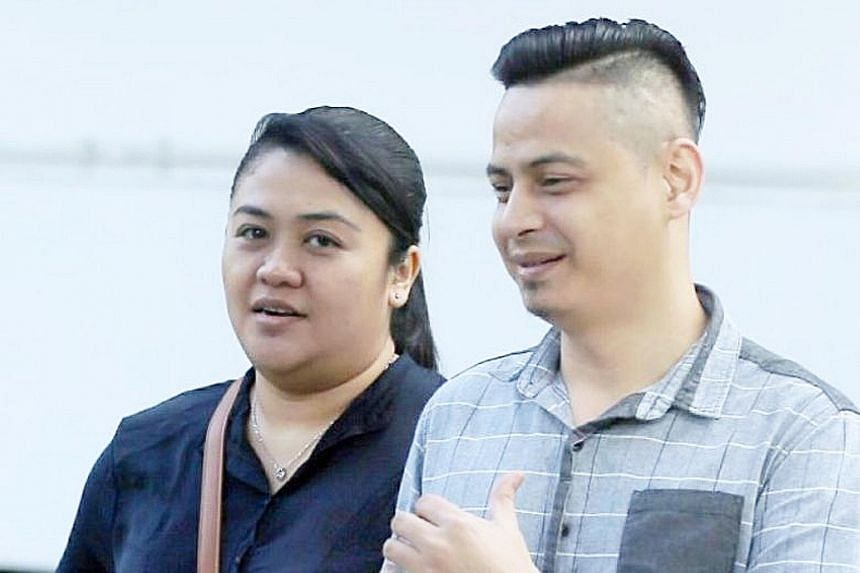 Noryana Mohamed Salleh and her boyfriend Rajzaed Sedik were sentenced in May to 36 weeks' jail each for theft and cheating.